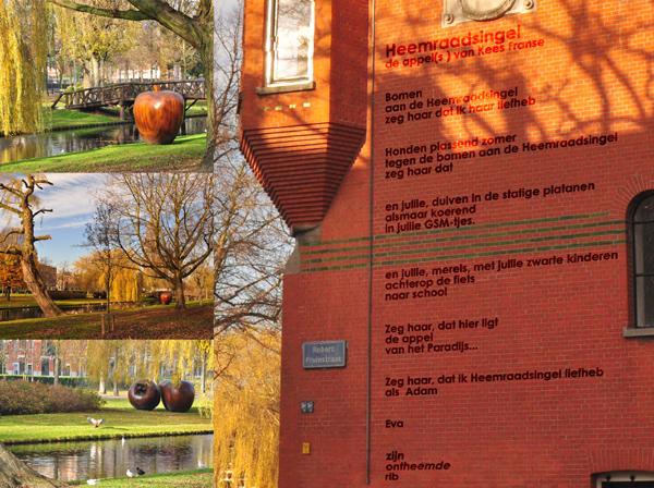 impressie gedicht Heemraadsingel van Manuel Kneepkens