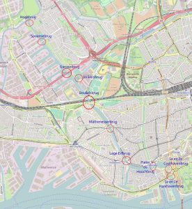 Open Dicht locaties Rotterdam