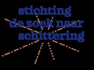 logo stichting De zoek naar Schittering